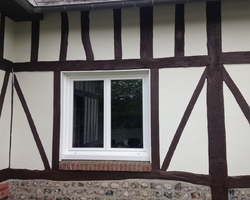 Ravalement de façades - Amfreville-La-Mi-Voie - Entreprise Hubert