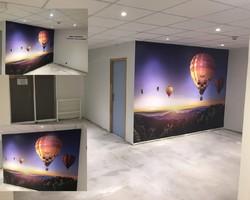 Panoramique, peintre - Rouen