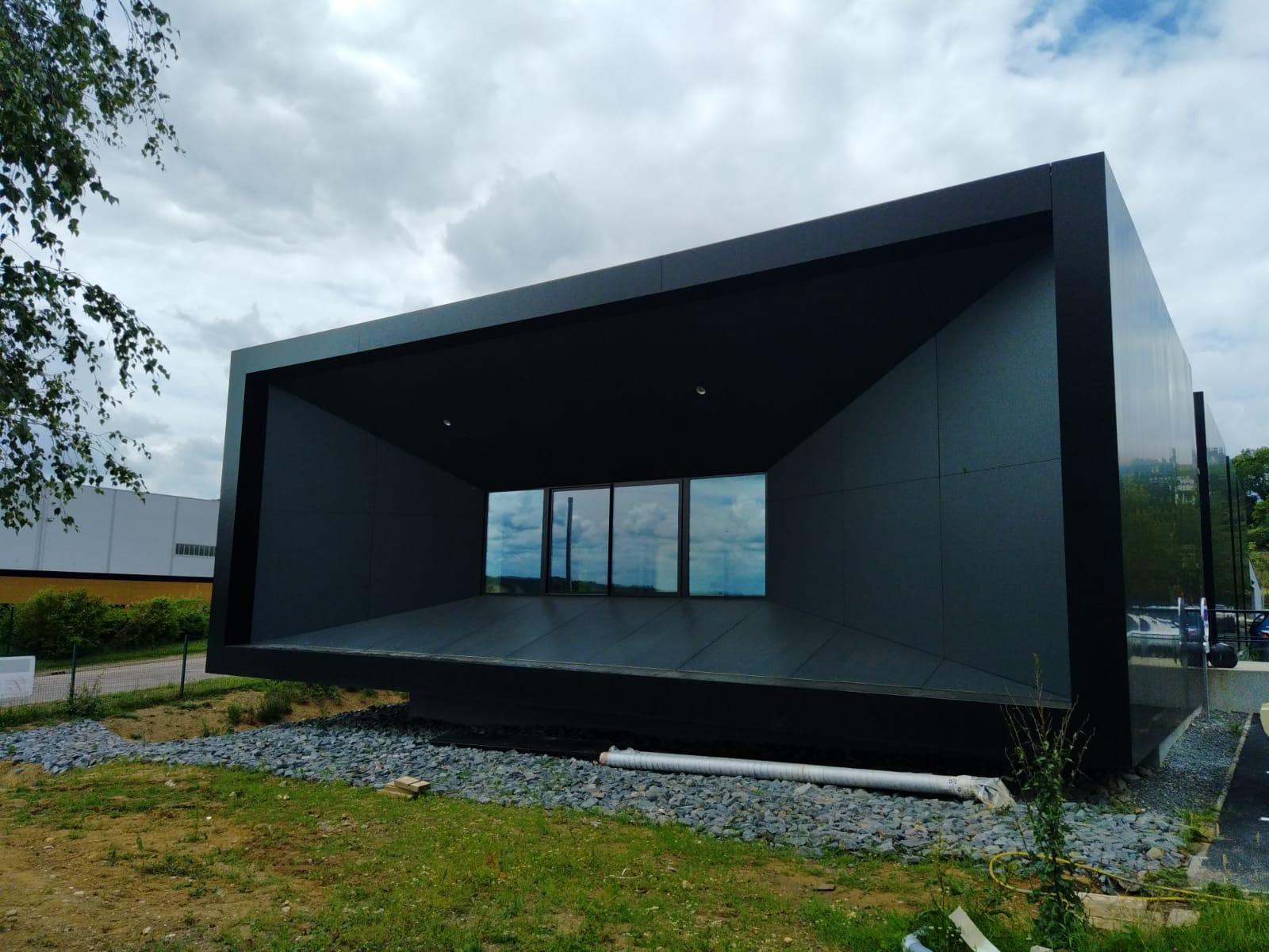Soprema: Construction d'un bâtiment XCrusher - Val de Reuil